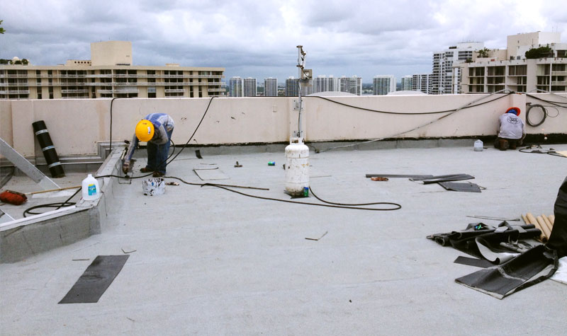 flat roof replacement and recovery